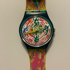 Swatch jelly in jelly dancing people watch
